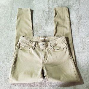 Levi's Sandstone 711 Skinny Stretch Jeans